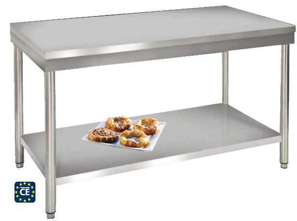 18 mod les partir de for Table de cuisine inox