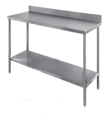 24 mod les partir de for Table de cuisine inox