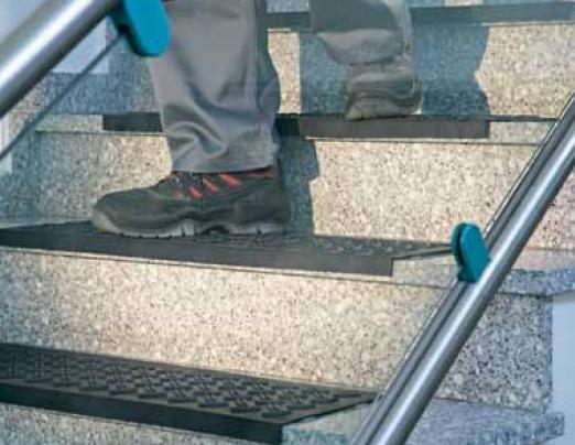 Tapis D Escalier Antidérapant tapis d'escalier antidérapant caoutchouc - tapis d'accueil - techni
