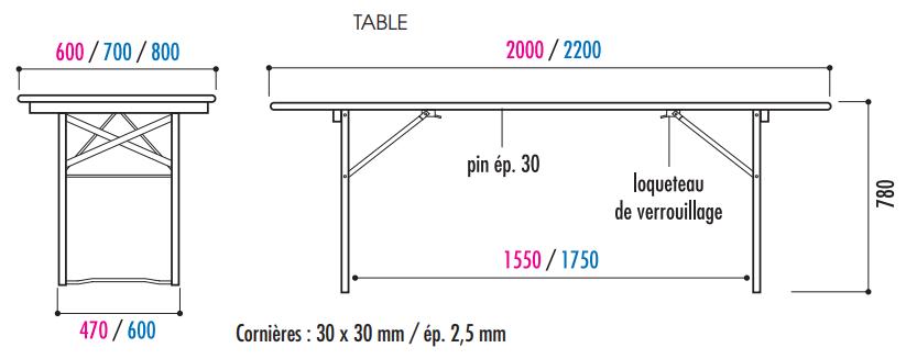 Table Et Banc Collectivité Table Banc Pliable Et Empilable