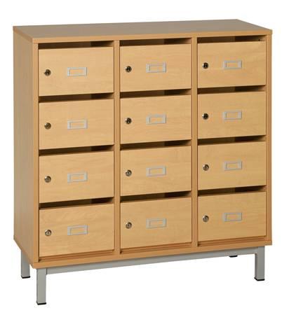 meuble courrier rangement scolaire techni contact. Black Bedroom Furniture Sets. Home Design Ideas