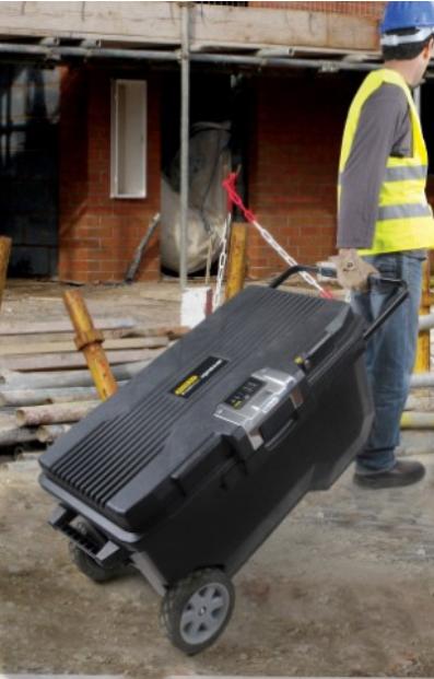 coffre outil de chantier rangement d 39 outils techni contact. Black Bedroom Furniture Sets. Home Design Ideas