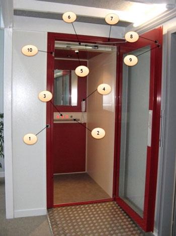 ascenseur pour personne mobilit r duite l vateur. Black Bedroom Furniture Sets. Home Design Ideas