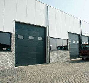 Porte sectionnelle porte industrielle techni contact - Prix porte sectionnelle industrielle ...