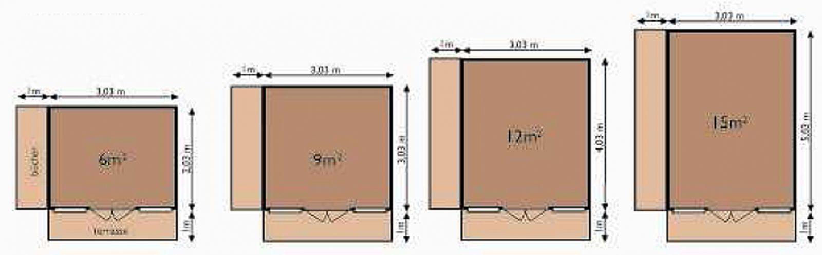 Chalet habitable en bois chalet modulable techni contact for Cabanes en bois habitables