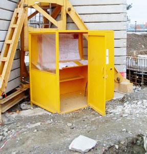 abri mobile pour chantier abri de chantier techni contact. Black Bedroom Furniture Sets. Home Design Ideas