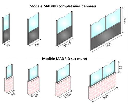Pare vent terrasse caf cloison protection terrasse - Separation de terrasse ...