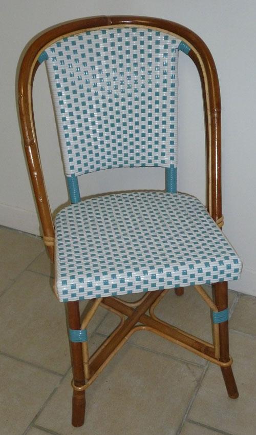 Devis pour chaise bistrot en rotin - Chaises de bistrot en rotin ...