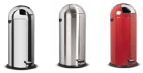 Poubelle avec bac intérieur poubelle de bureau techni contact