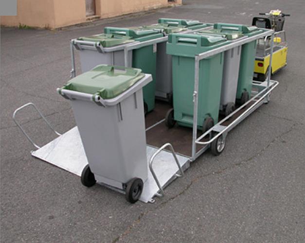 Remorque utilitaire pour conteneurs remorques de for Prix pour un conteneur