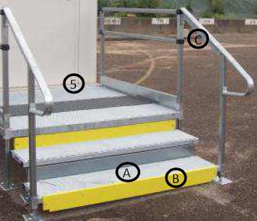 rampe escalier modulaire escalier modulaire techni contact. Black Bedroom Furniture Sets. Home Design Ideas