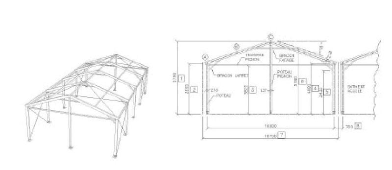 B timents de stockage temporaire b timent de stockage techni contact - Construire un batiment industriel ...