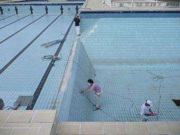 Installation thermique revetement mural toilette japonaise - Dauphin fonte 80 ...
