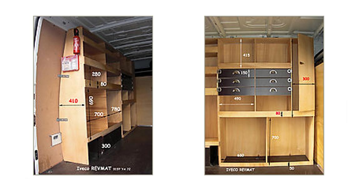 si l 39 am nagement que vous recherchez pour votre v hicule utilitaire n 39 existe pas en r alisation. Black Bedroom Furniture Sets. Home Design Ideas