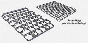 grille pour gravier r alisation d 39 all es carrossables. Black Bedroom Furniture Sets. Home Design Ideas