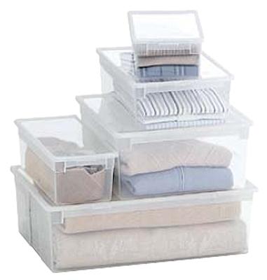 bo te de rangement en plastique transparent boite en polypropyl ne techni contact. Black Bedroom Furniture Sets. Home Design Ideas