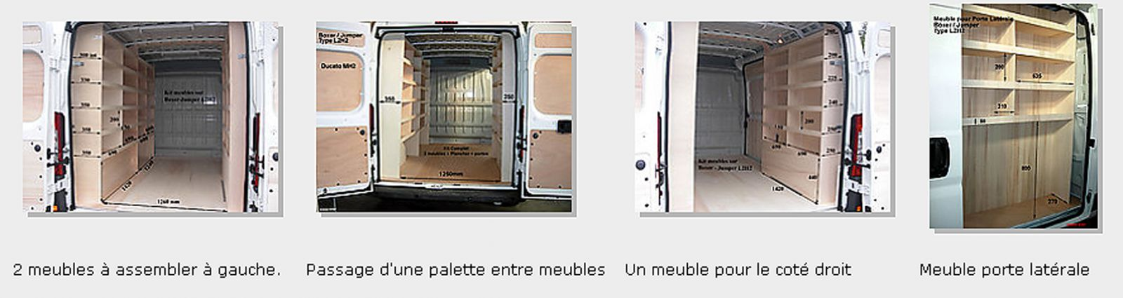 Am nagement pour renault boxer habillage v hicule - Dimension palette europeenne ...