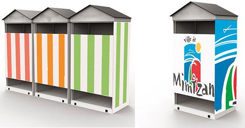 devis pour cabine de plage. Black Bedroom Furniture Sets. Home Design Ideas