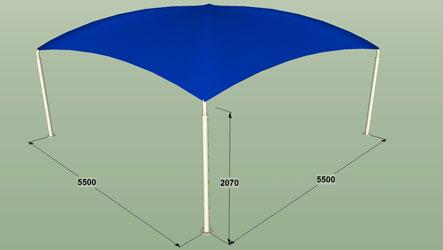 abri auto anti pluie toiles de protection tanches techni contact. Black Bedroom Furniture Sets. Home Design Ideas