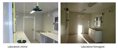 Laboratoire modulaire installation rapide laboratoire for Agencement cuisine traiteur