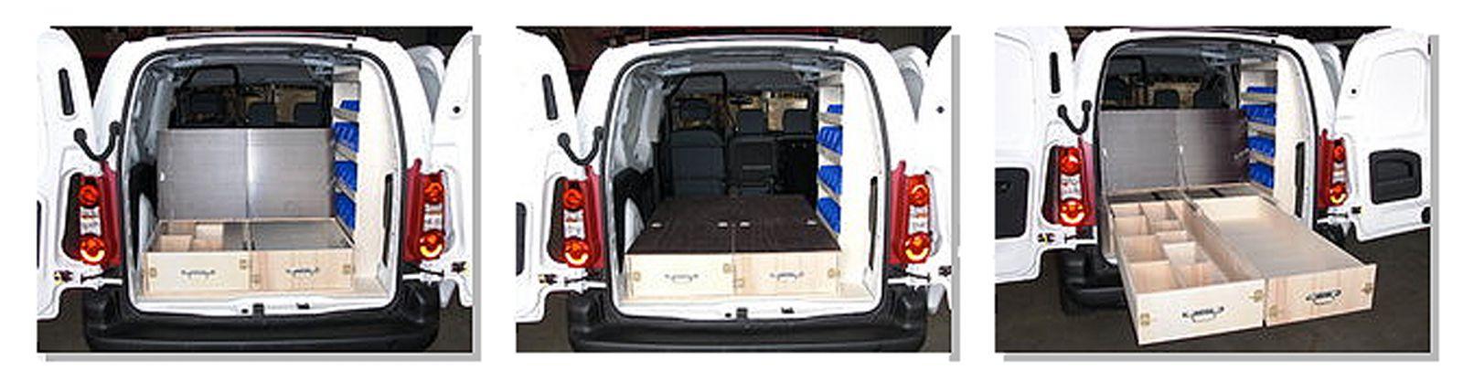meubles bois pour v hicule utilitaire am nagement. Black Bedroom Furniture Sets. Home Design Ideas
