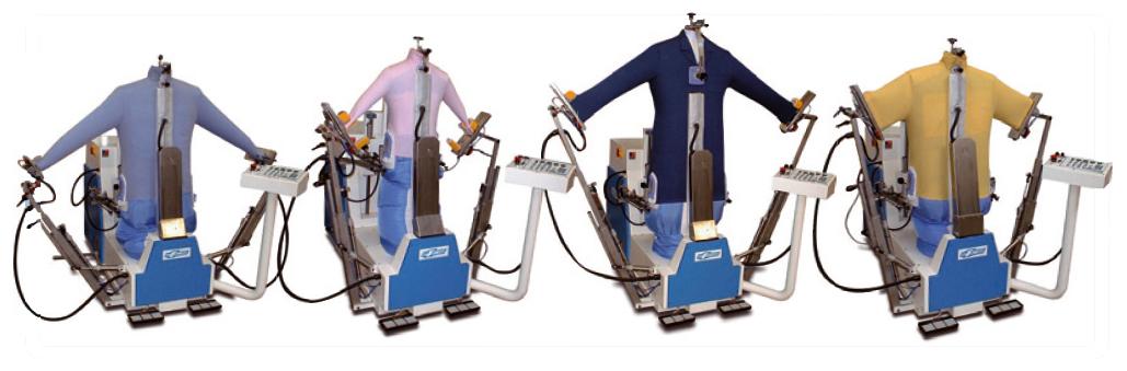 Mannequin pour repassage de chemises mannequin repassage for Centrale vapeur professionnelle pour pressing