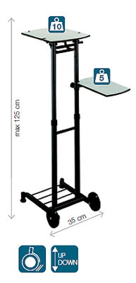 table de projection table videoprojecteur techni contact. Black Bedroom Furniture Sets. Home Design Ideas