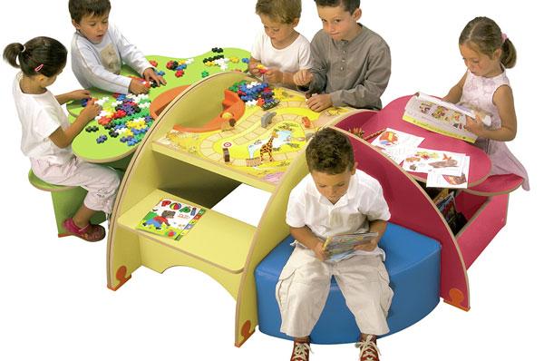jeux enfant pour salle d 39 attente aire de jeux int rieur techni contact. Black Bedroom Furniture Sets. Home Design Ideas