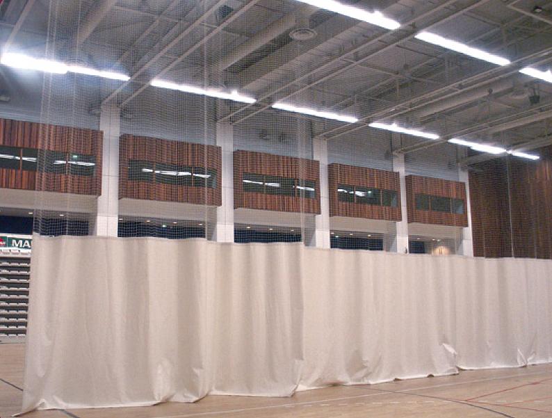 rideau de s paration pour salle de sport mat riel entrainement pour sport collectif techni. Black Bedroom Furniture Sets. Home Design Ideas