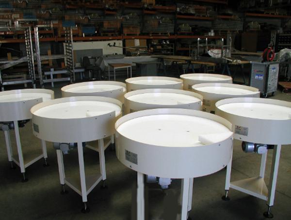 table tournante d 39 accumulation table d 39 alimentation techni contact. Black Bedroom Furniture Sets. Home Design Ideas