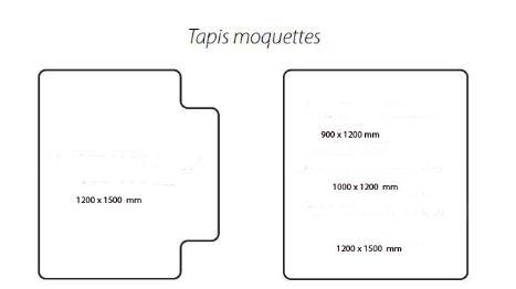 Fiche produit tapis prot ge sol bureau for Moquette de bureau